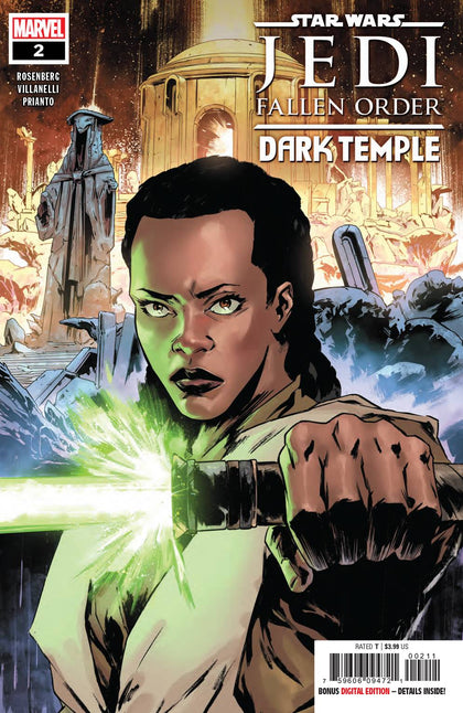 Star Wars Jedi Fallen Order Dark Temple #2 (of 5) - State of Comics