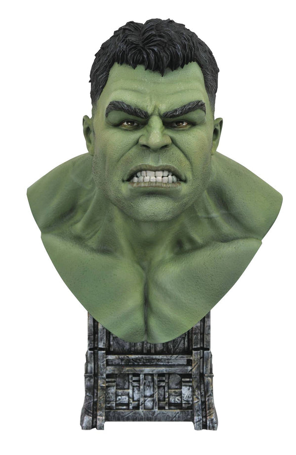 Legends in 3D Marvel Comic Hulk 1/2 Scale Bust - State of Comics