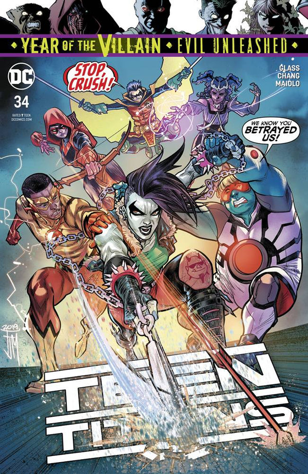 Teen Titans #34 YOTV - State of Comics
