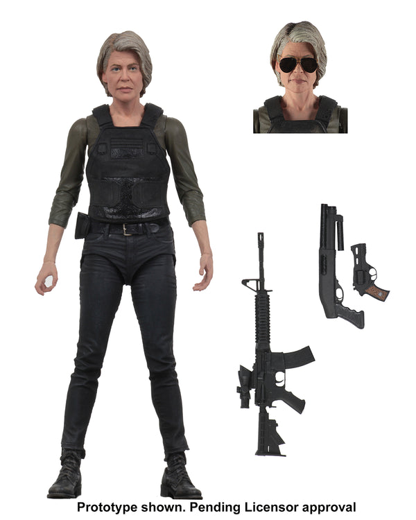Terminator Dark Fate Sarah Connor Ultimate 7in AF - State of Comics
