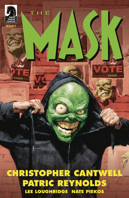 Mask I Pledge Allegiance to the Mask #1 (of 4) - State of Comics