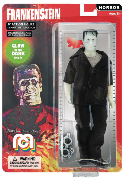 Mego Horror Wave 5 Glow in the Dark Frankenstein 8in AF