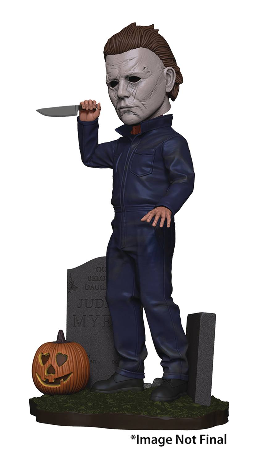 Halloween 2018 Michael Myers Head Knocker
