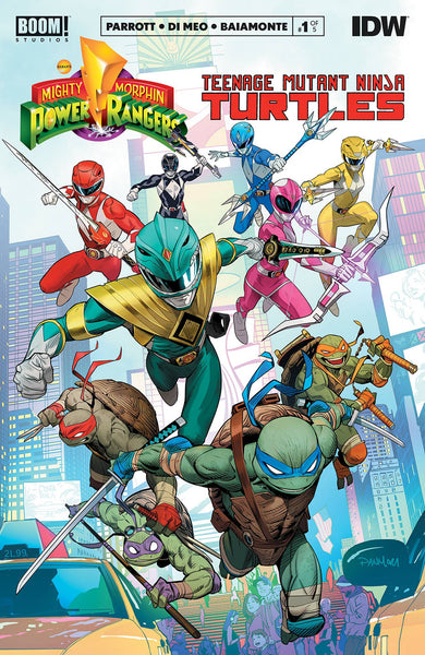 Power Rangers Teenage Mutant Ninja Turtles #1 - State of Comics