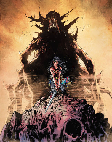 Wonder Woman Dead Earth #1 (of 4)