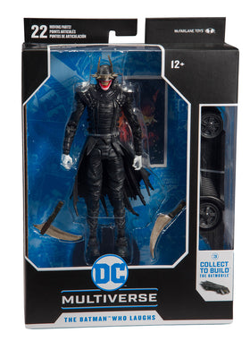 DC Collector Wave 1 Batman Who Laughs BAF 7in AF