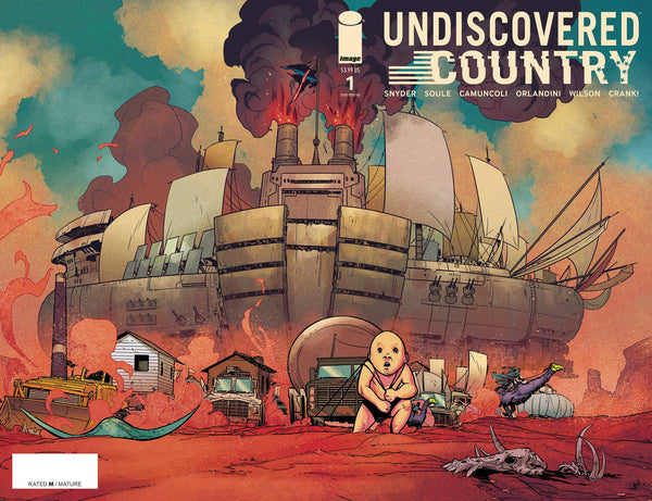 Undiscovered Country #1 3rd Ptg - State of Comics