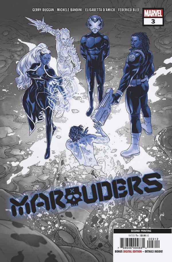 Marauders #3 2nd Ptg Dauterman Var - State of Comics