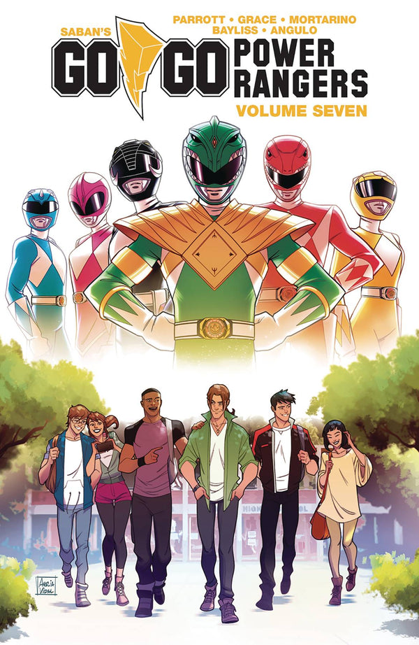 Go Go Power Rangers Vol 7 TP - State of Comics