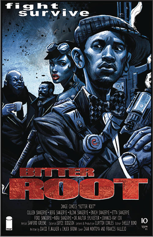 Bitter Root #10 Cvr B Vallejo - State of Comics