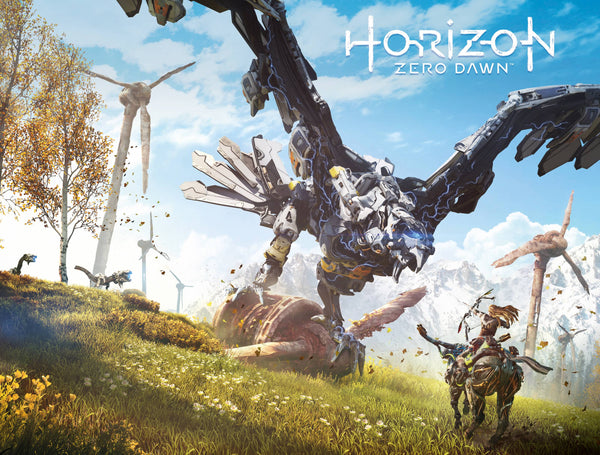 Horizon Zero Dawn #1 Cvr B Game Art