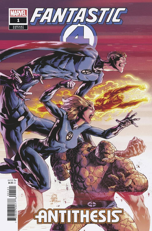 Fantastic Four Antithesis #1 (Of 4) Stegman 1:50 Incentive Var - State of Comics