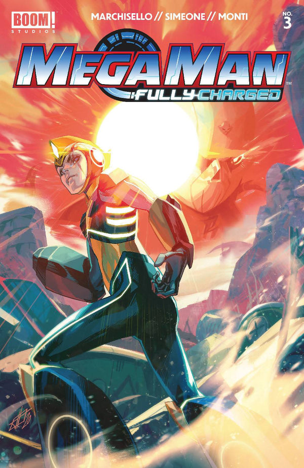 Mega Man Fully Charged #3 Cvr A Main - State of Comics