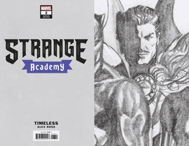 Strange Academy #3 Alex Ross Doctor Strange Timeless 1:100 Sketch Var