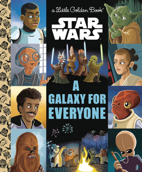 Star Wars Galaxy of Hope Little Golden Book - State of Comics
