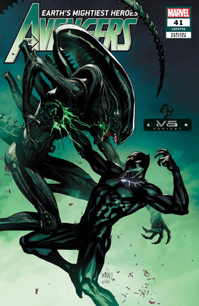Avengers #41 Yu Marvel Vs Alien Var