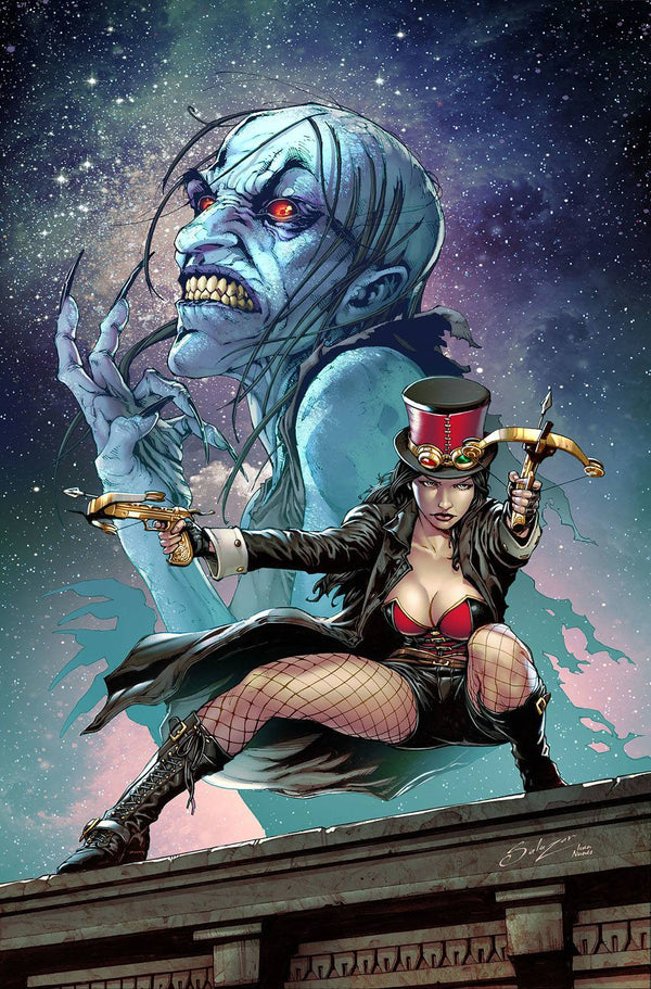 Van Helsing Black Annis One Shot Cvr A Edgar Salazar (03/03/2021) - State of Comics
