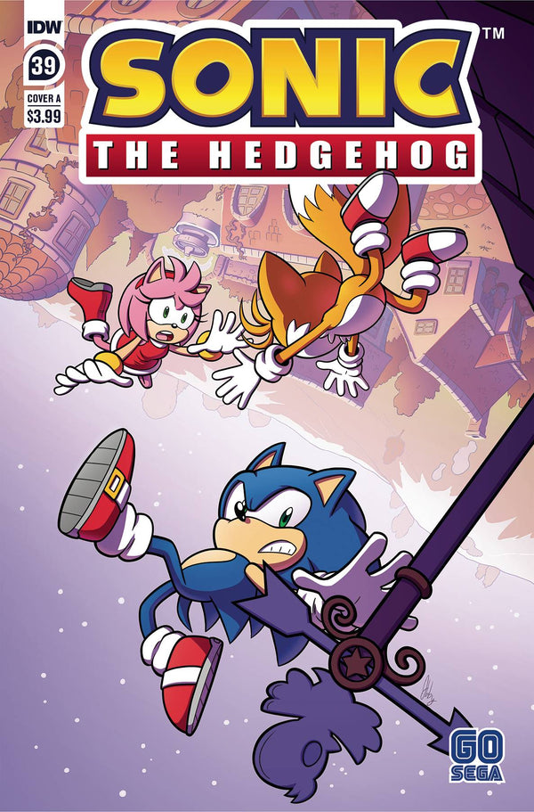 Sonic The Hedgehog #39 Cvr A Abby Bulmer (C: 1-0-0) (03/31/2021) - State of Comics