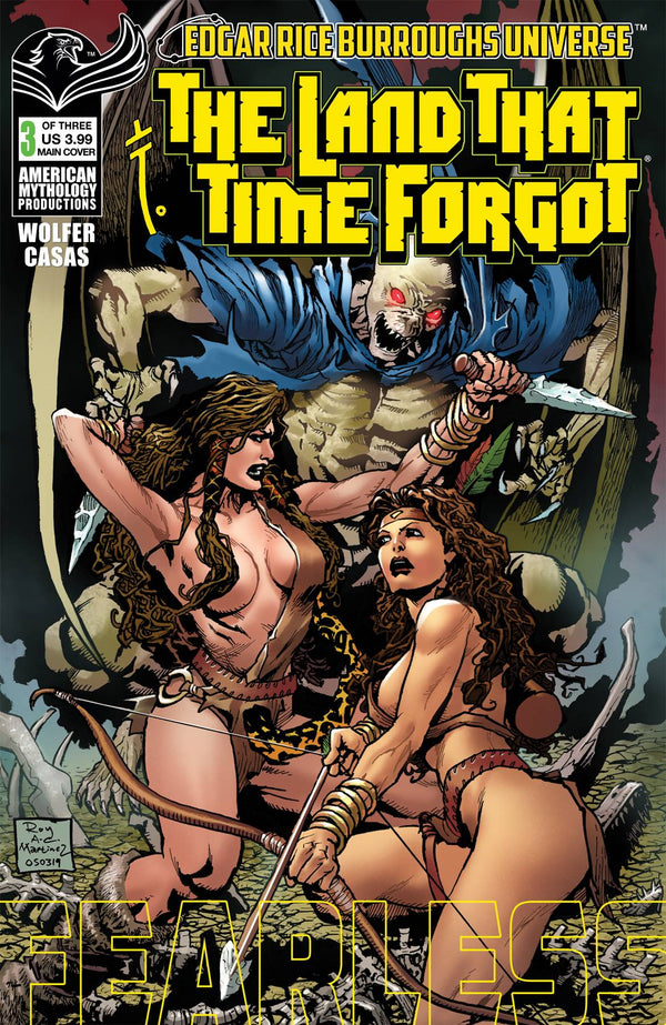Land That Time Forgot Fearless #3 Cvr A Martinez (03/24/2021) - State of Comics