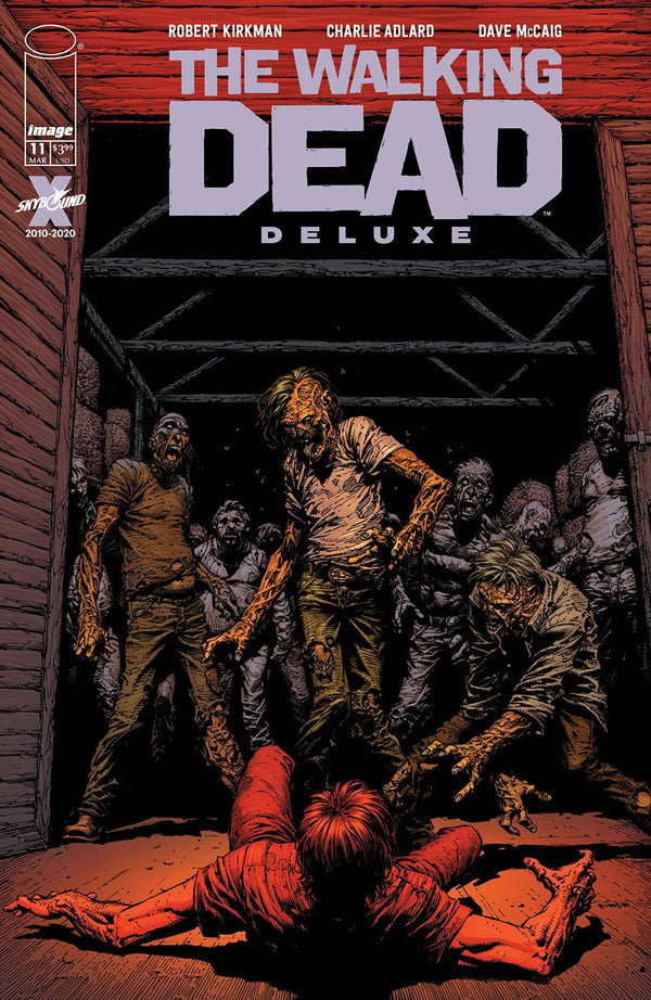 Walking Dead Dlx #11 Cvr A Finch & Mccaig (Mr) (03/17/2021) - State of Comics