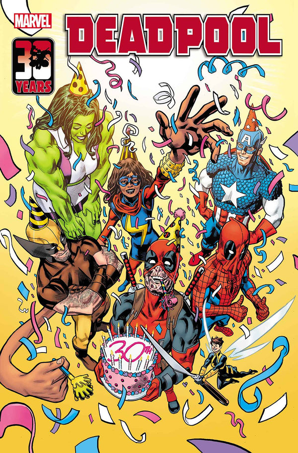 Deadpool Nerdy 30 #1 Hawthorne Var (03/03/2021) - State of Comics