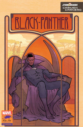 Black Panther #25 Carnero Stormbreakers Var (05/12/2021)