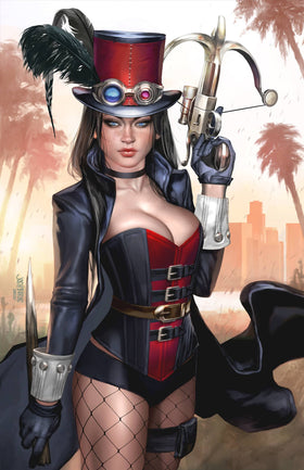 Van Helsing Steampunk One Shot Cvr C Burns (5/12/2021)