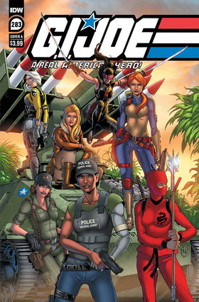 Gi Joe A Real American Hero #283 Cvr A Andrew Griffith (5/19/2021)
