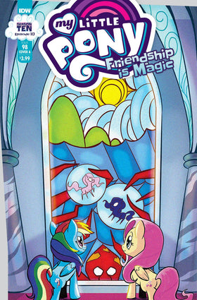 My Little Pony Friendship Is Magic #98 Cvr A  Akeem S Robert (5/12/2021)