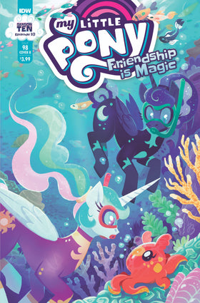 My Little Pony Friendship Is Magic #98 Cvr B Justasuta (C: 1 (5/12/2021)