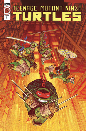 Tmnt Ongoing #117 10 Copy Incv Sam Lofti (Net) (5/12/2021)