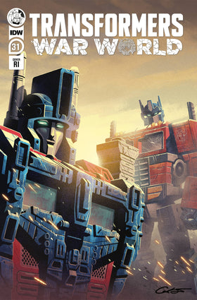 Transformers #31 10 Copy Incv George Caltsoudas (Net) (5/19/2021)
