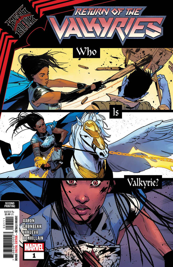 King In Black Return of Valkyries #1 (of 4) 2nd Printing (02/24/2021) - State of Comics