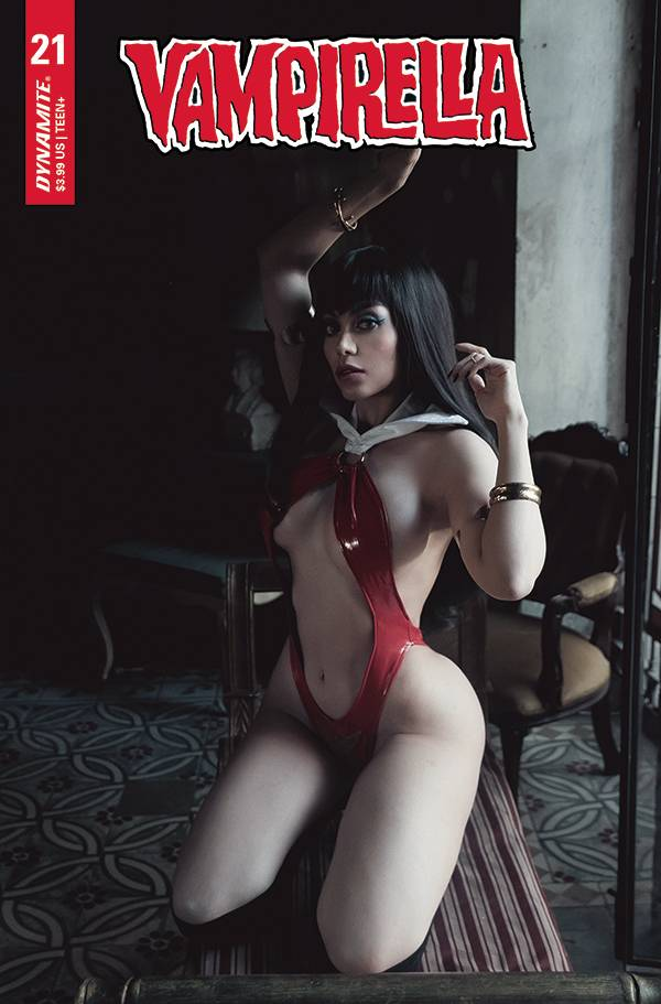 Vampirella #21 Cvr E Lorraine Cosplay (May 26 2021) - State of Comics