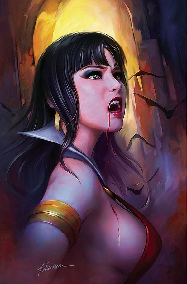 Vampirella #21 Maer Ltd Virgin Cvr (6/2/2021) - State of Comics