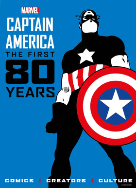 Captain America First 80 Years HC (07/14/2021)