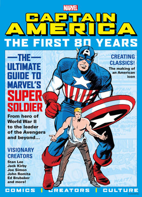 Captain America First 80 Years SC Newstand (07/14/2021)