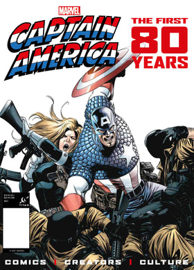Captain America First 80 Years FOC Var (07/14/2021)