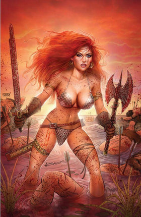 Red Sonja Age of Chaos #6 Saviuk & Szerdy Exclusive Virgin