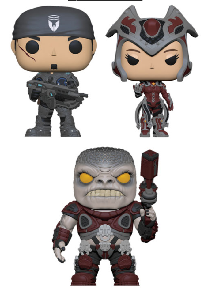 POP Games Gears of War Funko POP Bundle