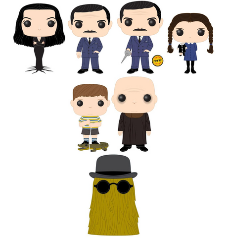 POP! Television Addams Family Guaranteed Chase Funko POP Bundle