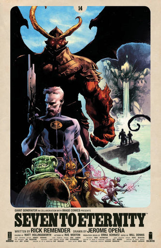 IMAGE COMICS Seven To Eternity #14 Cvr A Opena & Hollingsworth (Mr) (November 18 2020) State of Comics