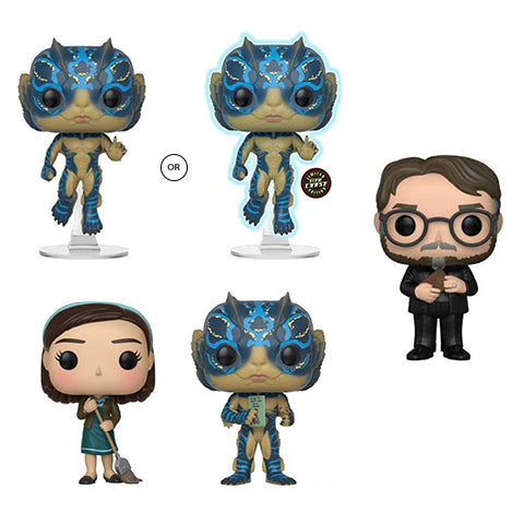 POP! Movies - The Shape of Water - Bundle