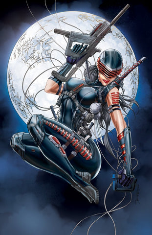 Snake Eyes Deadgame #1 Tyndall Exclusive Virgin Cover