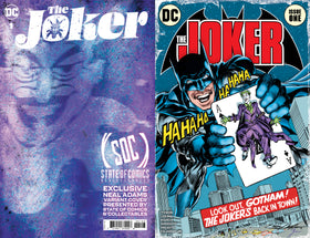Joker #1 Neal Adams Exclusive Cover