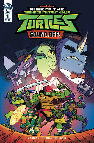 Rise of the Teenage Mutant Ninja Turtles Sound Off #1