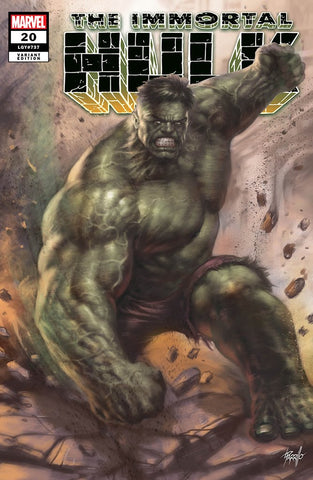 Immortal Hulk #20 Lucio Parrillo Trade Dress Exclusive