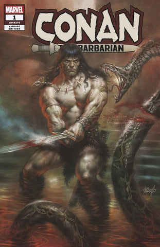 Conan the Barbarian #1 Parrillo Trade Dress Exclusive