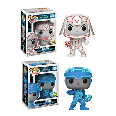 POP! Movies - Tron - Tron & Sark Common Bundle