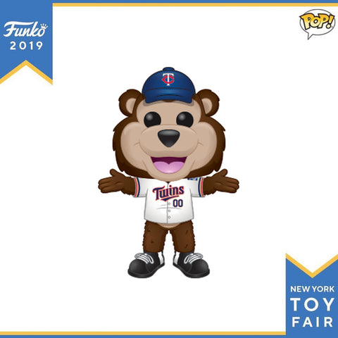 POP! Sports MLB Minnesota Twins™ Mascot TC Bear™ Funko POP